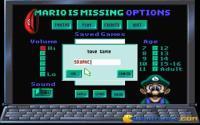 Save game screen