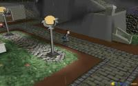 Chasing the umbrella robber