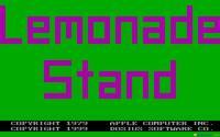 Lemonade Stand download