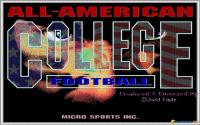 All-American College Football download