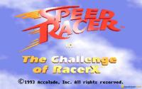 Speed Racer: The Challenge of Racer X download