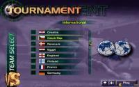 Tournament selection menu