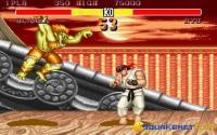 Blanka attacking Ryu