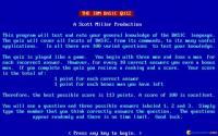 IBM BASIC Quiz download
