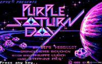 Purple Saturn Day download