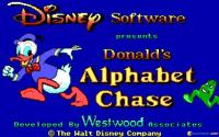 Donald's Alphabet Chase download