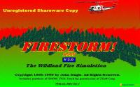 Firestorm: The Forest Fire Simulation Program download