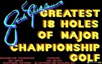 Jack Nicklaus' Greatest 18 Holes of Major Championship Golf download