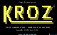 Lost Adventures of Kroz download