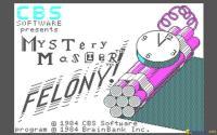 Mystery Master: Felony! download