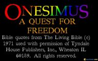 Onesimus: A Quest for Freedom download