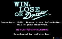 Win, Lose, or Draw download