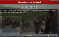Giggs is injured