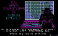 The Spy's Adventure in North America download