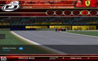 Eddie Irvine on his Ferrari number 4