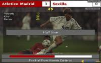 Playing against Sevilla: winning 3-0