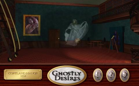 Ghostly Desires - title cover