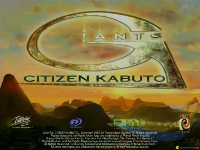 Giants: Citizen Kabuto - game cover