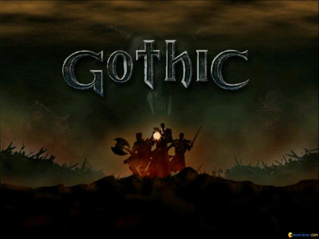 Gothic - title cover
