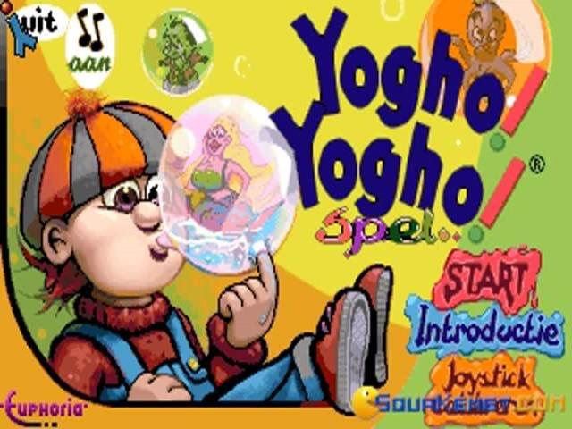 Yogho Yogho - title cover