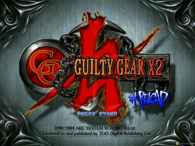 Guilty Gear XX #Reload - title cover