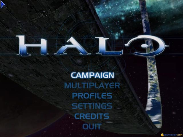 Halo: Combat Evolved - title cover