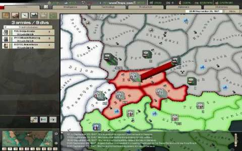 Hearts of Iron II - game cover