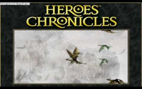 Heroes Chronicles: Clash of the Dragons - title cover