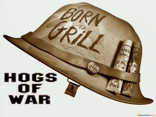 Hogs of War - title cover