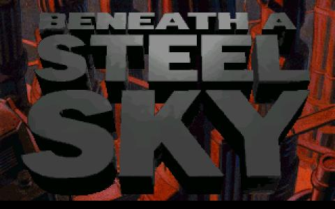 Beneath a Steel Sky - title cover