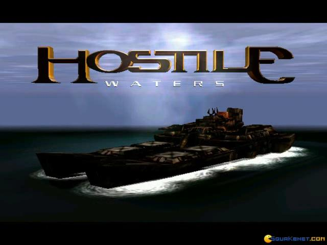 Hostile Waters: Antaeus Rising - title cover
