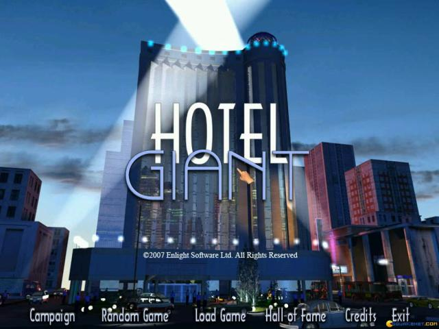 Hotel Giant - game cover