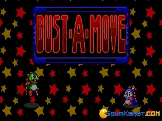 Bust a Move - game cover