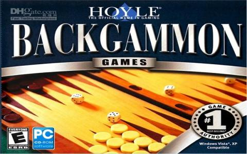 Hoyle's Backgammon & Cribbage - title cover