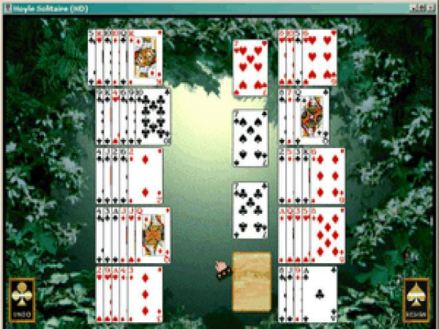 Hoyle Solitaire - game cover