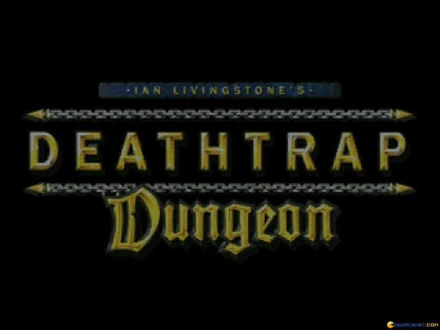 Ian Livingstone's Deathtrap Dungeon - title cover
