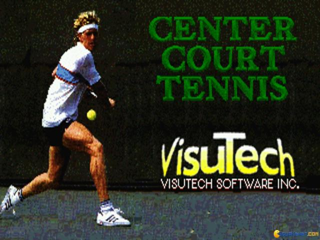 Center Court Tennis - title cover