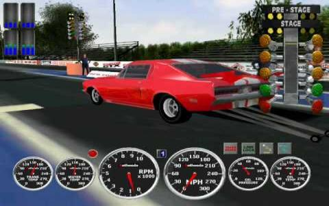 IHRA Motorsports - game cover