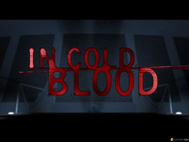 In Cold Blood - title cover