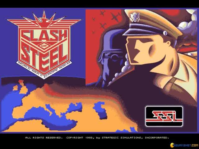 Clash of Steel - game cover