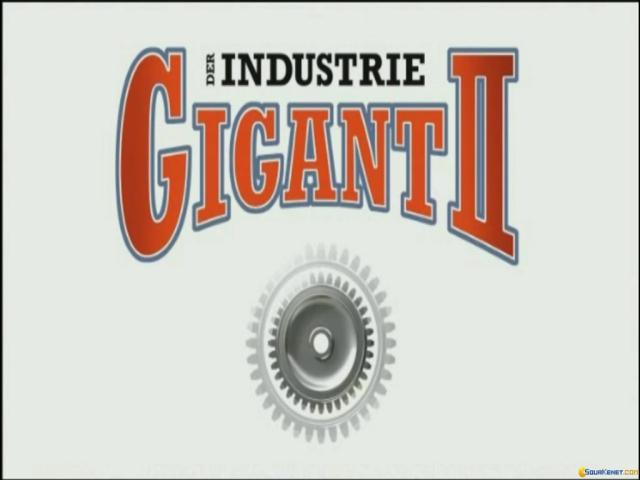 Industry Giant II - title cover