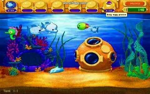 Insaniquarium Deluxe - game cover
