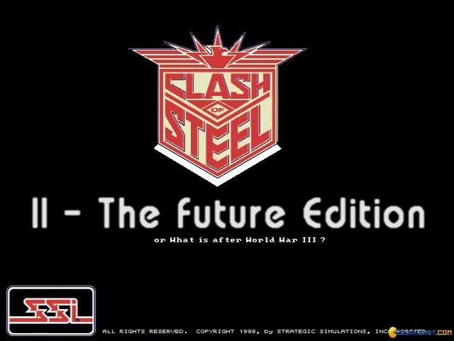 Clash of Steel Future edition - game cover