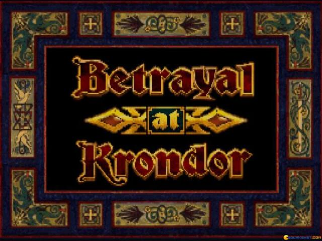 Betrayal at Krondor - title cover