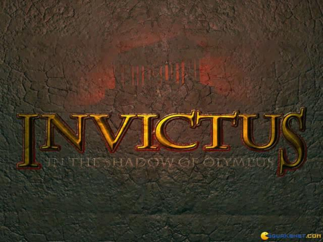 Invictus: In the Shadow of Olympus - title cover