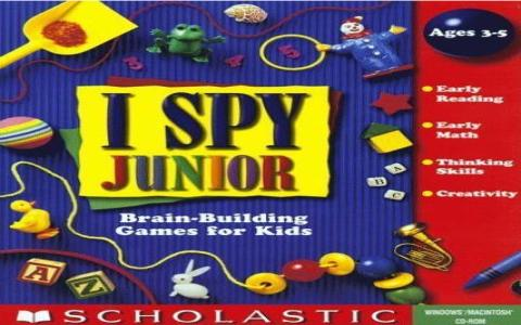 I Spy Junior - title cover