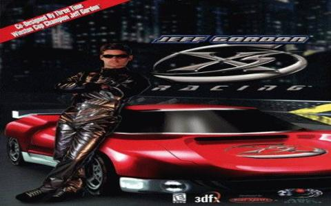 Jeff Gordon XS Racing - game cover