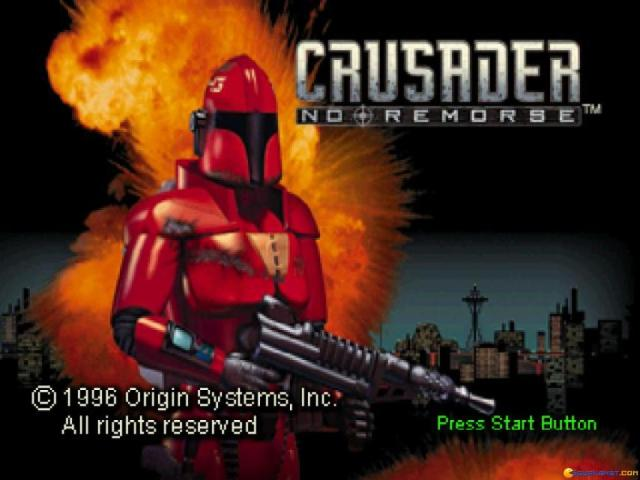 Crusader No Remorse - title cover