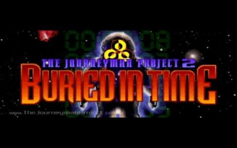 The Journeyman Project 2: Buried in Time - title cover