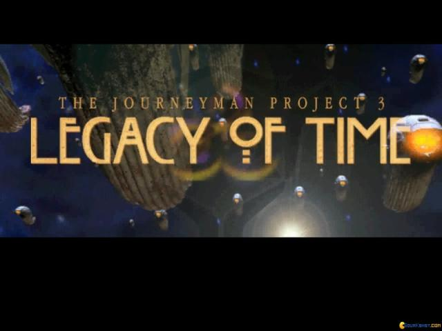 The Journeyman Project 3: Legacy of Time - title cover
